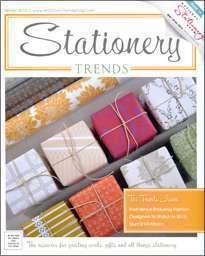 Stationery Trends Winter 2013