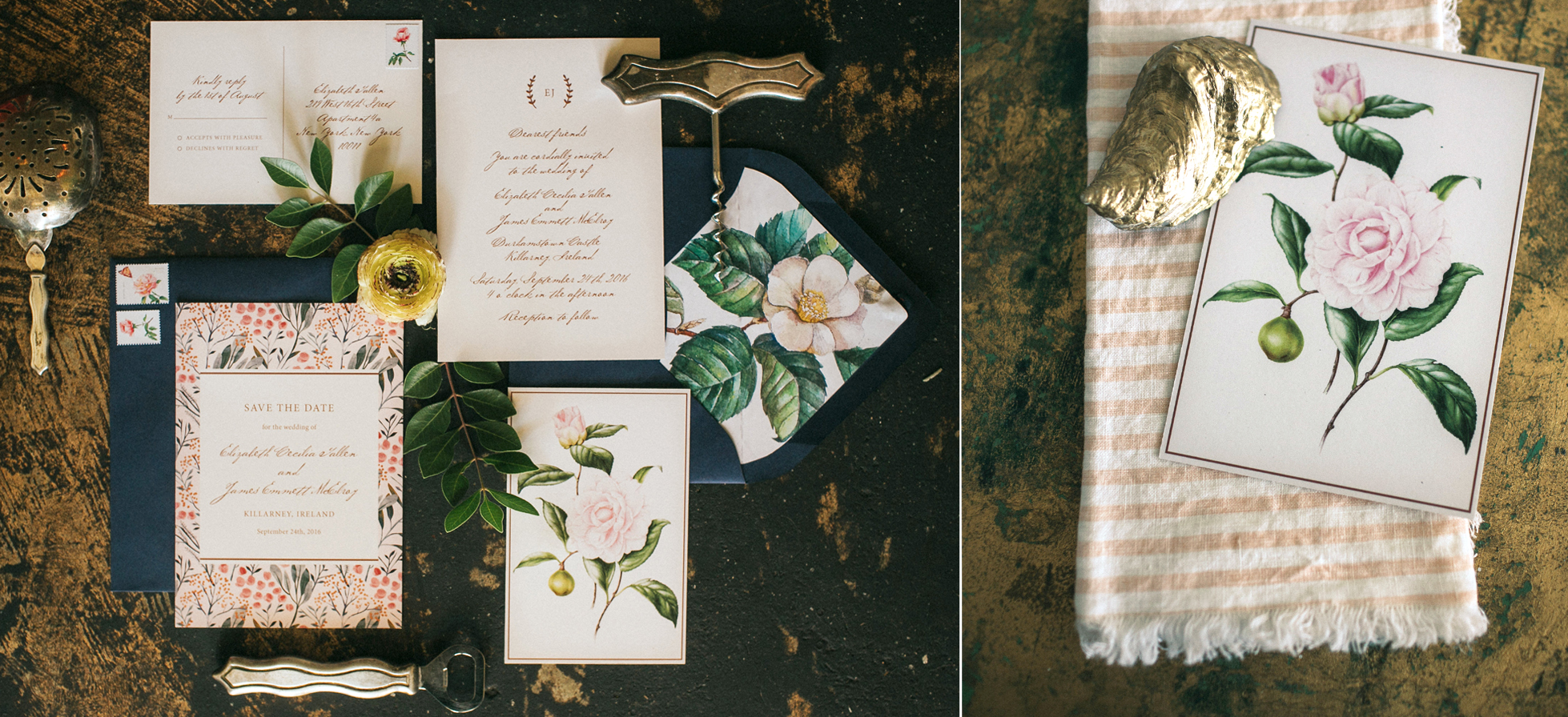 Custom Wedding Invitation Design - Austin, Texas - Fine Day Press