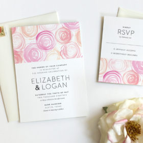 Garden Wedding Invitation Ideas from Fine Day Press