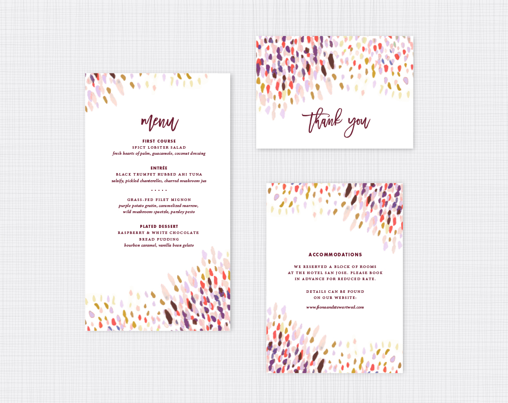 texas rustic boho watercolor wedding invitations austin texas - Wedding Invitations Austin Tx