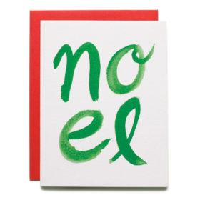 Christmas card, Noel