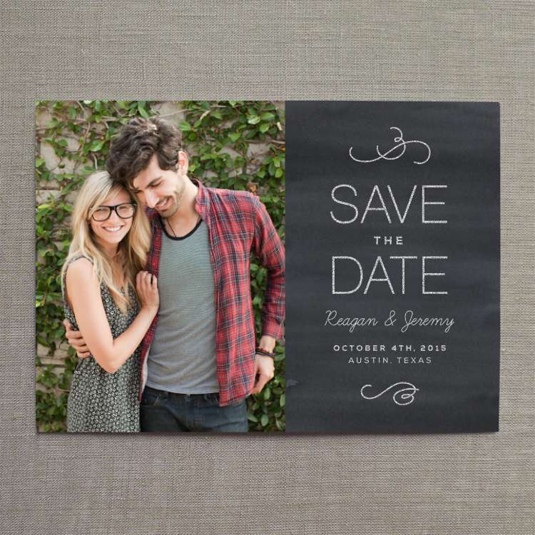 Post Card Wedding Invitations with great invitations layout