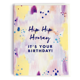 Birthday Card, Hip Hip Hooray