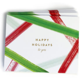 christmas card set, happy holidays