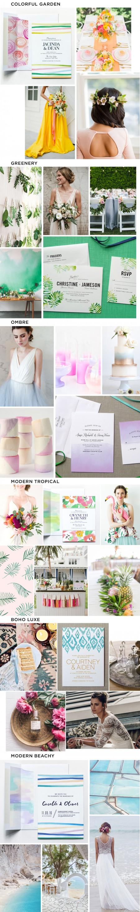 Wedding Inspiration Boards