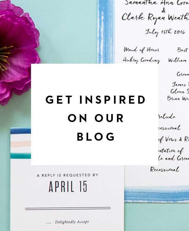 Wedding Inspiration Blog